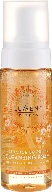 Oczyszczająca pianka do mycia twarzy - Lumene Kirkas Radiance Boosting Cleansing Foam