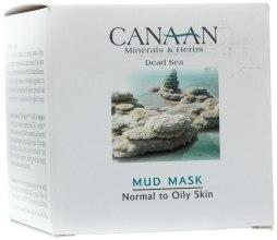 Kup Błotna maska do skóry normalnej i tłustej - Canaan Minerals & Herbs Mud Mask Normal to Oily Skin