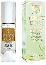 Kup Przeciwstarzeniowe serum do twarzy - Yellow Rose Cellular Liposomes Anti-Aging Bio-Drops