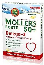Kup Suplement diety Omega-3 w kapsułkach - Orkla Moller's Forte 50+