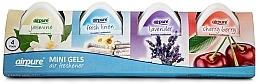 Kup Zestaw - Airpure 4 Pack Mini Gels (4xgel/60g)
