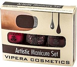 Kup Zestaw lakierów do paznokci - Vipera Set Artistic Manicure (n/pol/5,5mlx3)