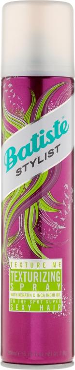 Teksturujący spray do włosów - Batiste Stylist Texture Me Texturizing Spray