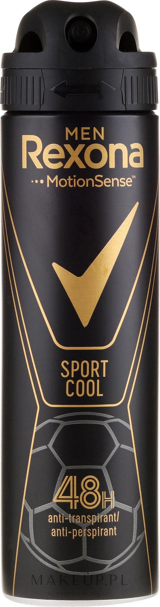 Antyperspirant w sprayu dla mężczyzn - Rexona Men MotionSense Sport Cool Anti-perspirant — фото 150 ml