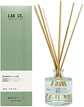 Kup PRZECENA! Patyczki zapachowe - Ambientair Lab Co. Pepper & Iris *