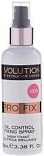 Kup Utrwalacz makijażu w sprayu - Makeup Revolution Pro Fix Oil Control Fixing Spray