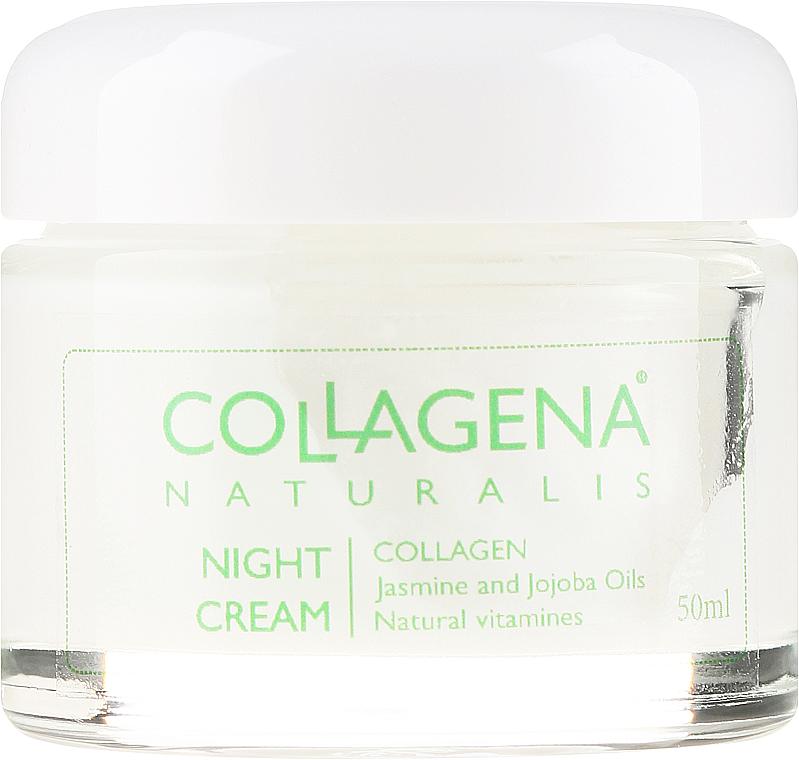 PRZECENA! Regenerująco-odżywczy krem na noc do cery normalnej i suchej - Collagena Naturalis Night Cream * — фото N2