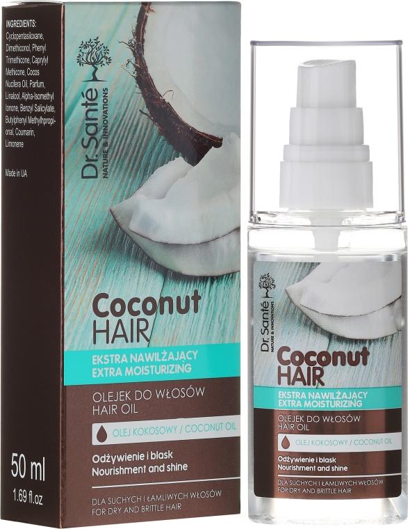 Ekstranawilżający olejek do włosów - Dr. Sante Coconut Hair