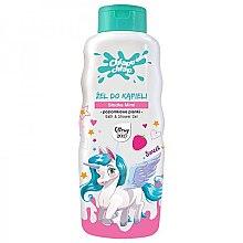 Kup Żel do kąpieli o zapachu poziomkowej pianki dla dzieci Słodka Mimi - Chlapu Chlap
