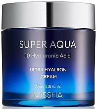 Kup Nawilżający krem do twarzy - Missha Super Aqua Ultra Hyalron Cream