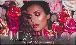 Kup Paleta cieni do powiek - Huda Beauty Rose Gold Palette (Remastered)