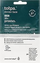 Kup Silnie nawilżająca maska-blask przeciw starzeniu - Tołpa Dermo Face Provivo 35+ Mask