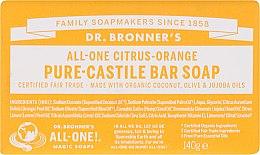 Kup Mydło Citrus i pomarańcza - Dr. Bronner's Pure Castile Bar Soap Citrus & Orange