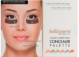 Kup Paletka korektorów do twarzy - Bellapierre Cosmetics Color Correcting Concealer Palette