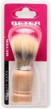 Kup Pędzel do golenia z drewnianą rączką - Beter Beauty Care