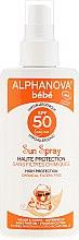 Kup Przeciwsłoneczny spray dla dzieci SPF 50 - Alphanova Bébé