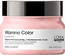 Kup Witaminowa maska do włosów farbowanych - L'Oreal Professionnel Serie Expert Vitamino Color Resveratrol Mask
