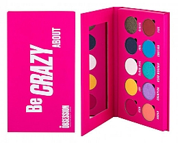 Kup Paleta cieni do powiek - Makeup Obsession Be Crazy About Eyeshadow Palette