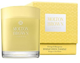 Kup Molton Brown Orange & Bergamot Single Wick Candle - Świeca z 1 knotem