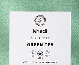 Kup Naturalne mydło z zielona herbatą i miętą - Khadi Green Tea Shanti Soap