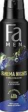 Kup Dezodorant w sprayu bez soli aluminium dla mężczyzn - Fa Men Ipanema Nights Deo & Body Spray