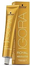 Kup PRZECENA! Trwały krem koloryzujący do włosów siwych - Schwarzkopf Professional Igora Royal Absolutes *