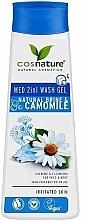 Kup Żel pod prysznic Sól morska i rumianek - Cosnature Med Shower Gel 2 In 1 Marine Salt & Chamomile