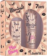 Kup Zestaw - 7 Days Illuminate Me Miss Crazy №2 (b/milk/150ml + fluid/50ml)