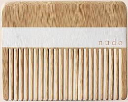 Kup Bambusowy grzebień do włosów - Nudo Nature Made Bamboo Comb