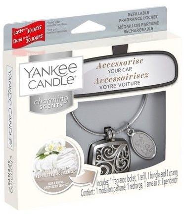 Zapach do samochodu - Yankee Candle Car Jar Charming Scents Fluffy Towels — фото N1