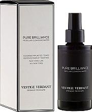 Kup Organiczna oczyszczająca woda micelarna - Vestige Verdant Pure Brilliance Micellar Cleansing Water