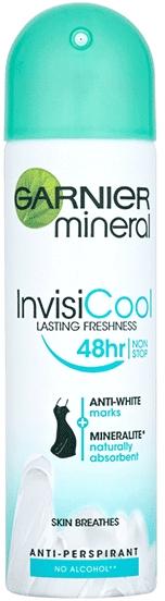 Antyperspirant w sprayu - Garnier Mineral InvisiCool