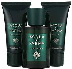 Acqua di Parma Colonia Club - Zestaw (edc 100 ml + f/emulsion 50 ml + sh/gel 50 ml) — фото N2