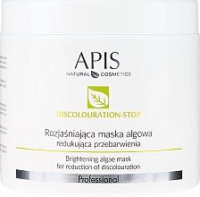 Kup Rozjaśniająca maska algowa redukująca przebarwienia - APIS Professional Discolouration-Stop Brightening Algae Mask For Reduction of Discolouration