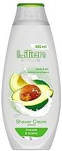 Kup Kremowy żel pod prysznic Awokado i sezam - Lilien Shower Cream Avocado & Sesame