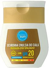 Kup Ochronna wodooodporna emulsja do ciała SPF 20 - Golden Sun