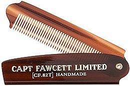Kup Składany grzebień do brody, CF82T - Captain Fawcett Folding Pocket Beard Comb