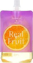 Kup Rozjaśniająco-rewitalizujący żel kojący do ciała Cytrus - Skin79 Real Fruit Citrus Soothing Gel