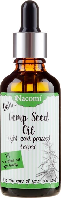 Olej z nasion konopi z pipetą - Nacomi Hemp Seed Oil
