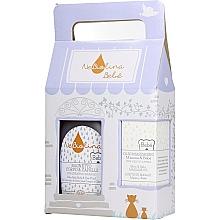 Kup Zestaw - NeBiolina Baby Gift Set II (body/hair/fluid/500ml+oil/100ml)