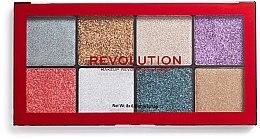 Kup Paletka brokatów - Makeup Revolution Halloween 2019 Pressed Glitter Palette