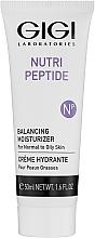 Kup Nawilżający krem regulujący do cery normalnej i tłustej - Gigi Nutri-Peptide Balancing Moisturizer Oily Skin
