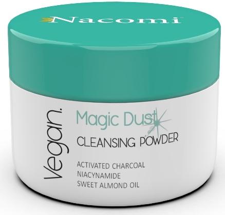 Oczyszczający puder detoksykujący do twarzy do skóry problematycznej - Nacomi Vegan Cleansing & Detoxifying Powder Magic Dust