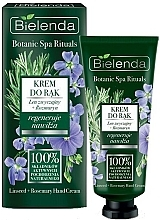 Kup Regenerujący krem nawilżający do rąk Len i rozmaryn - Bielenda Botanic Spa Rituals Hand Cream