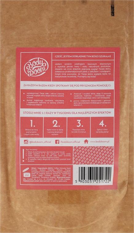 Peeling kawowy Truskawka - BodyBoom Coffee Scrub Strawberry — фото N2