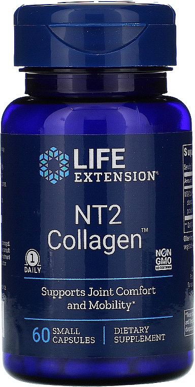Kolagen w kapsułkach - Life Extension NT2 Collagen — фото N1