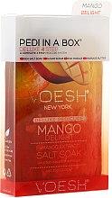Kup Zestaw do pedicure Mango - Voesh Pedi In A Box Deluxe 4 Step Pedicure Mango Delight