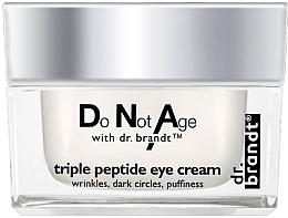 Kup Krem przeciwzmarszczkowy pod oczy z peptydami - Dr. Brandt Triple Peptide Eye Cream