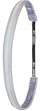 Kup Opaska do włosów z elementem odblaskowym, biała - IvyBands Light Silver Reflectiv Hair Band