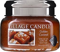 Kup Świeca zapachowa w słoiku - Village Candle Gold Caramel